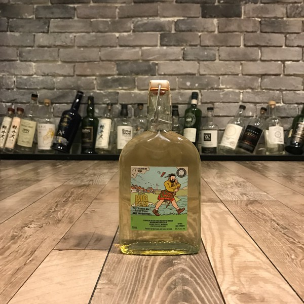 Big Peat Handmade Bottle Limited edition