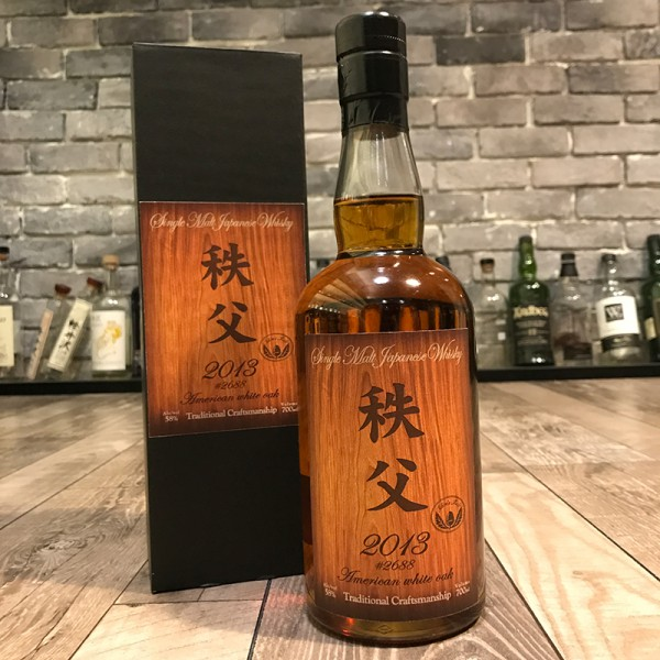 秩父 Chichibu 2013 American White Oak Cask 2688