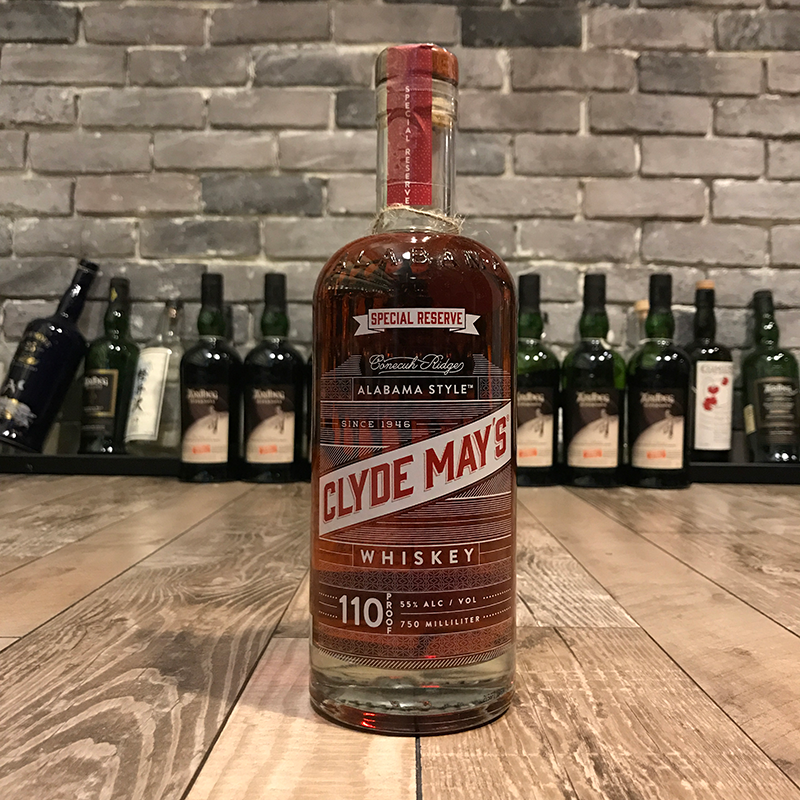 Clyde May's Bourbon Whiskey 110 Proof