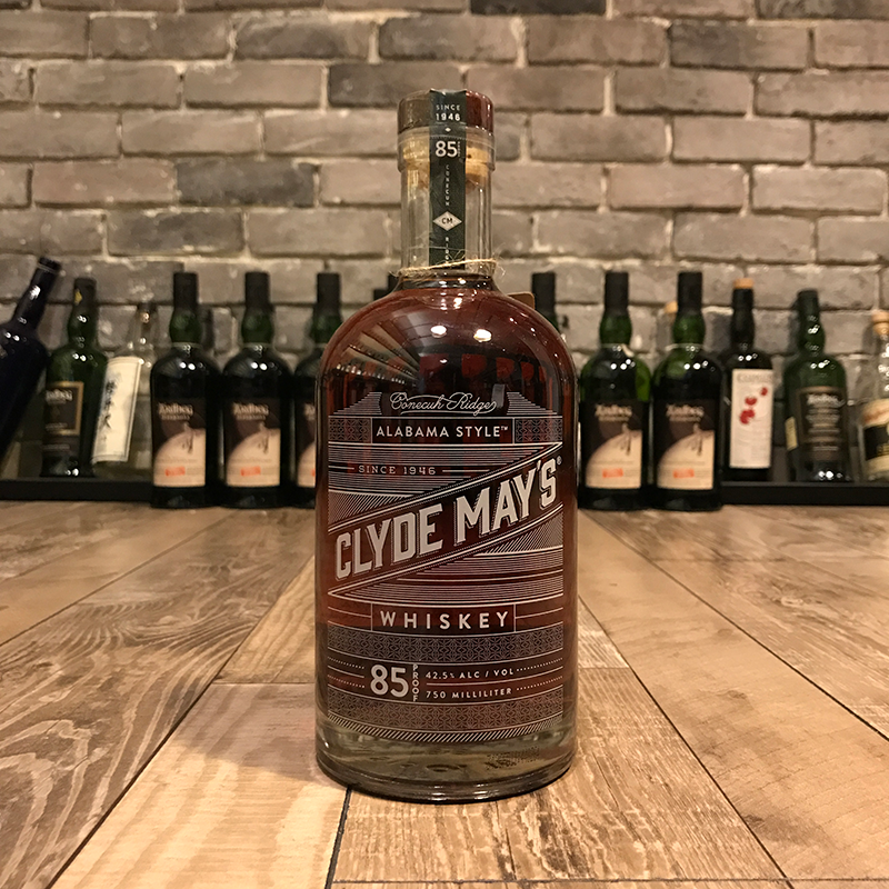 Clyde May's Bourbon Whiskey 85 Proof