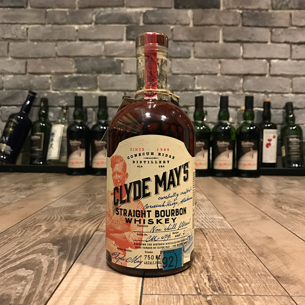 Clyde May's Straight Bourbon Whiskey 95 Proof