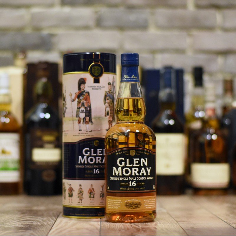Glen Moray 16 Year Old - Older Bottling