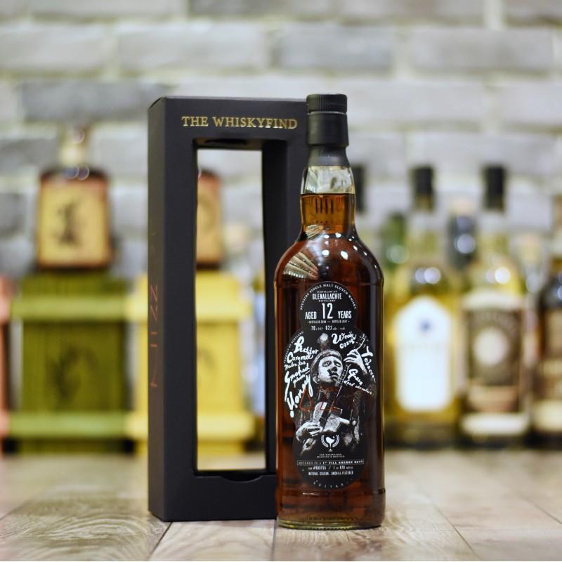 The Whiskyfind - Glenallachie 12 Year Old 2004 Jazzin: Guitar Cask 900755