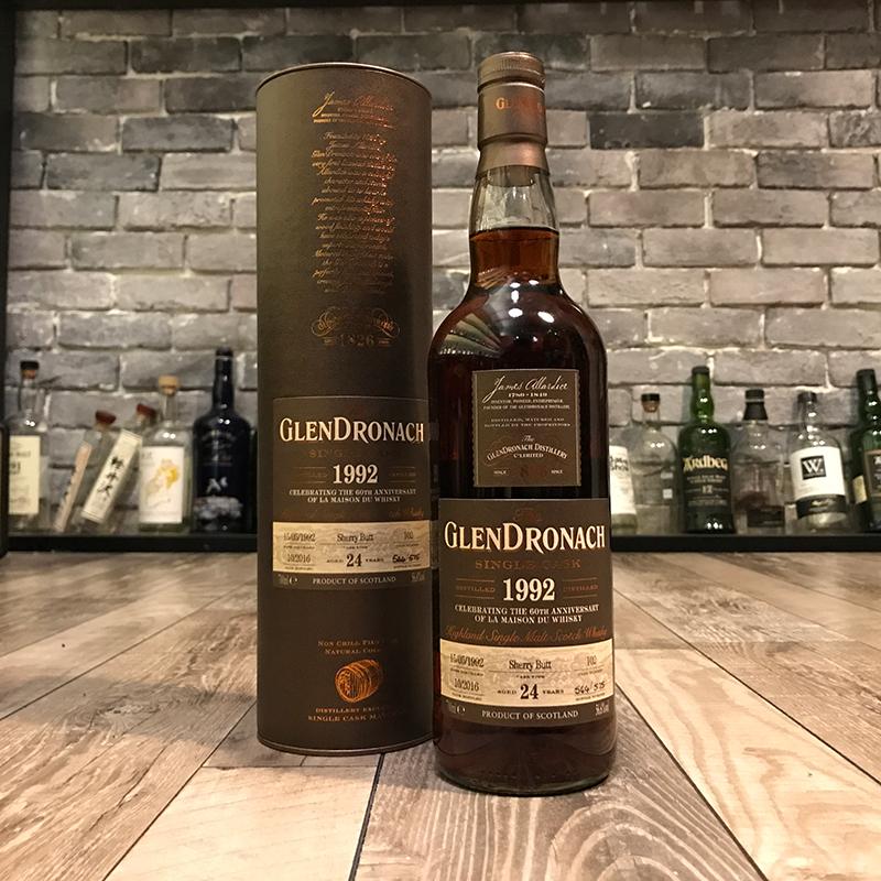 Glendronach 1992 24 Year Old  LMdW Cask 102