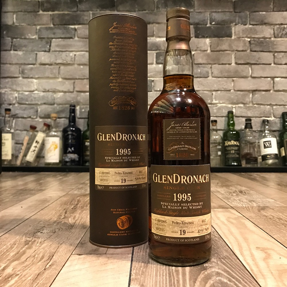 Glendronach 1995 19 Year Old  LMdW Cask 4037
