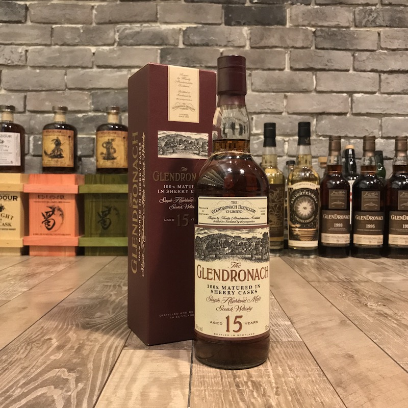 Glendronach 15 Year Old 2000's