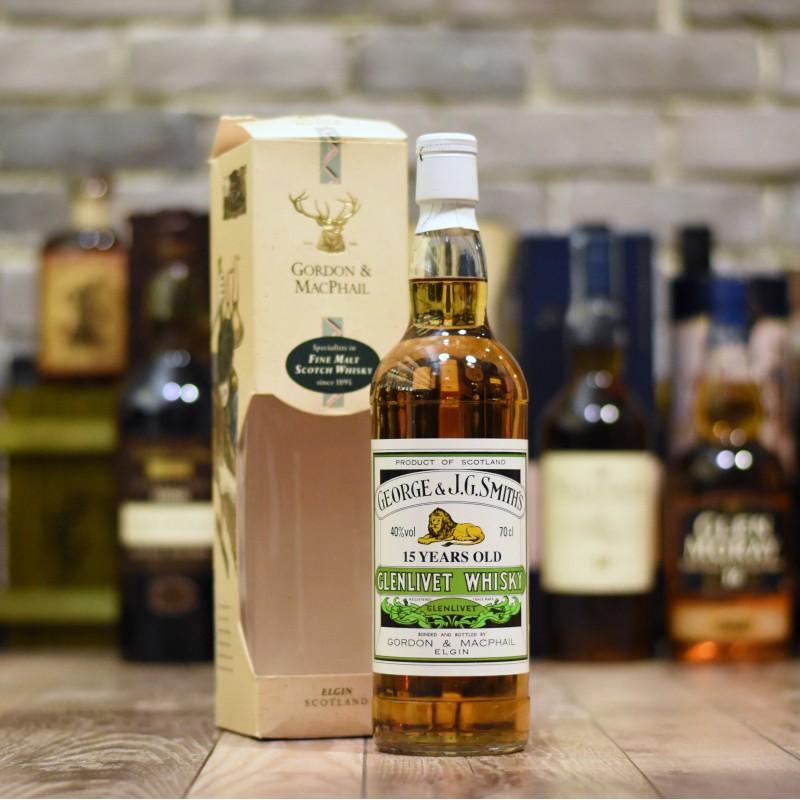 Gordon & MacPhail - Glenlivet 15 Year Old - Older Bottling