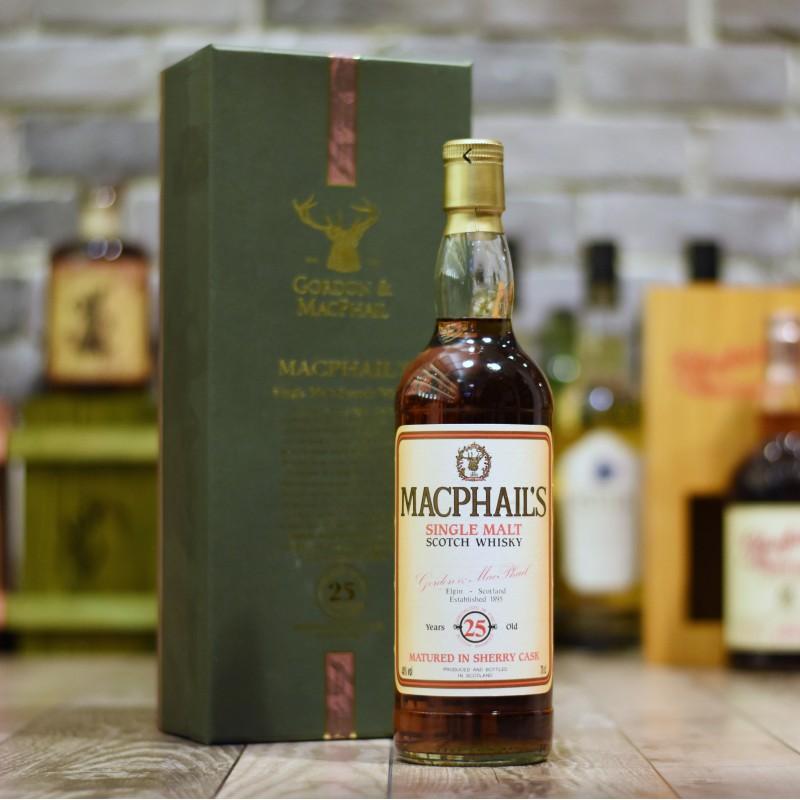 Gordon & MacPhail - MacPhail's 25 Year Old Single Malt Scotch Whisky