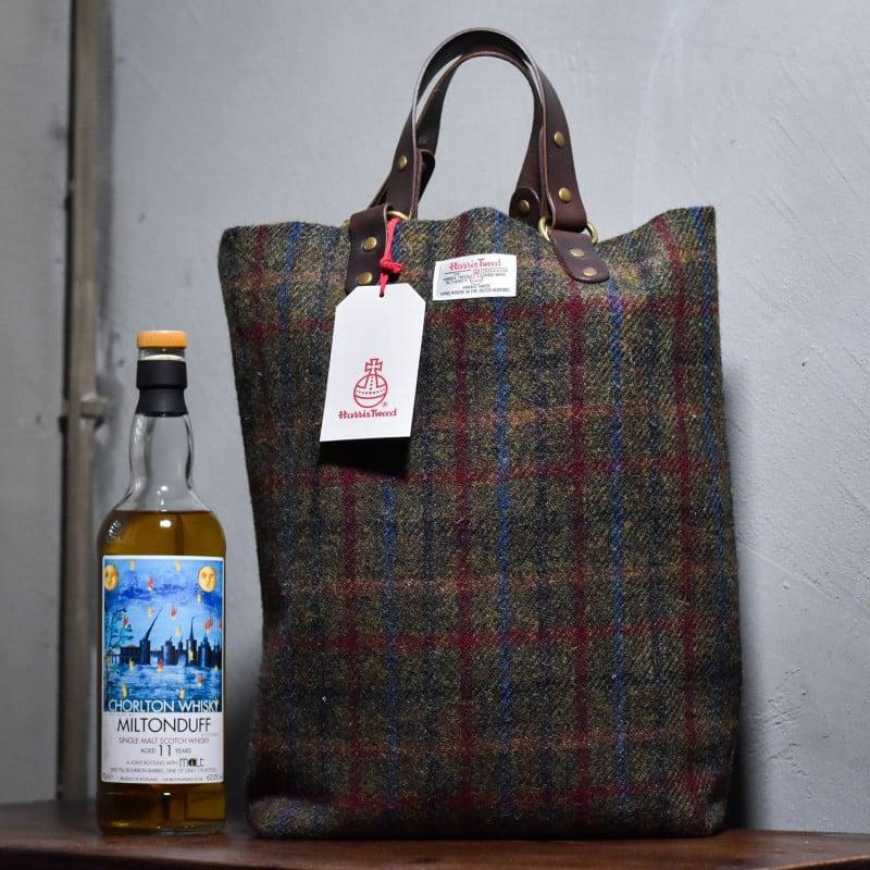 The Rare Malt - Harris Tweed & Leather Whisky Luggage