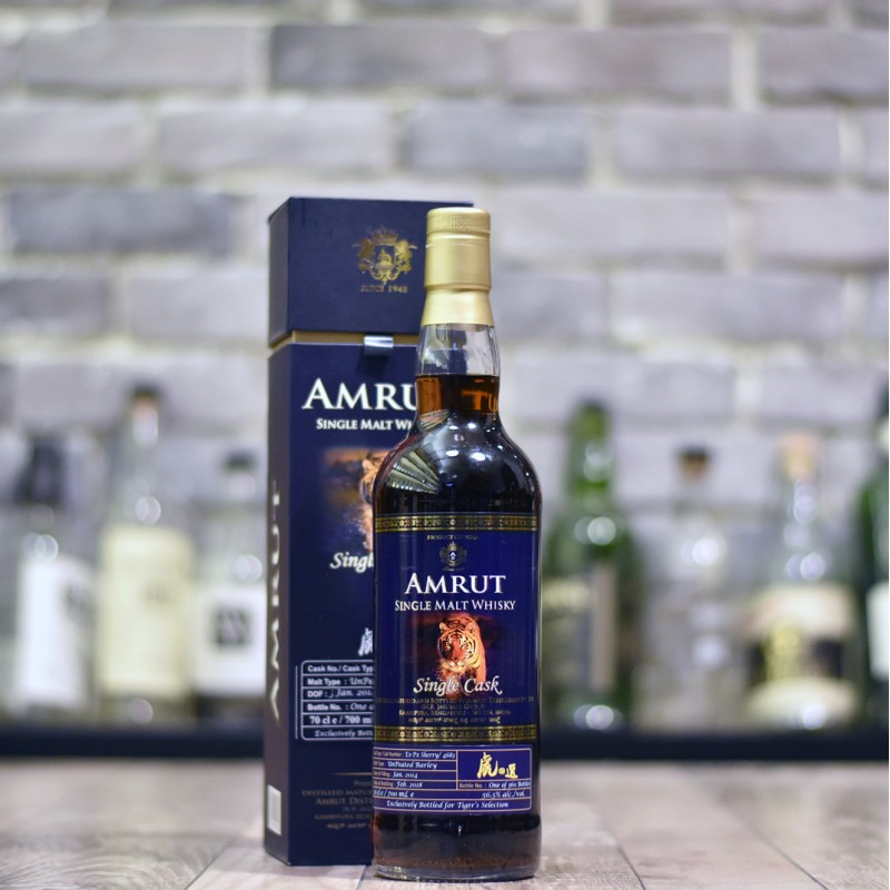 Amrut 4 Year Old 2014 Tiger's Finest Selection Cask 4683
