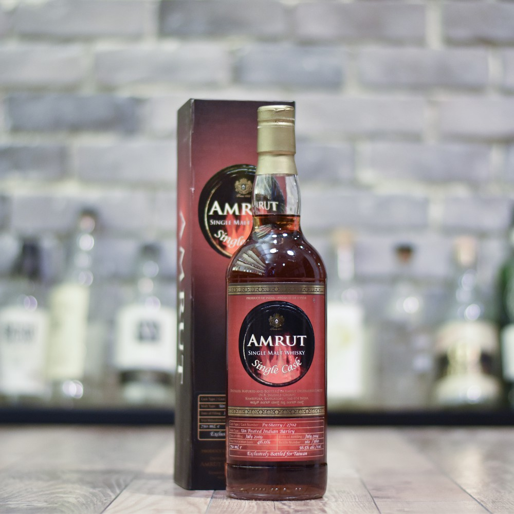 Amrut 5 Year Old 2009 for Taiwan Cask 2702