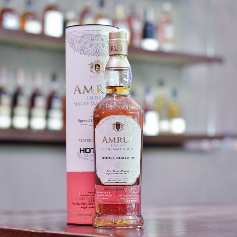 Amrut 5 Year Old Peated Madeira Cask Taiwan Exclusive Cask 4710