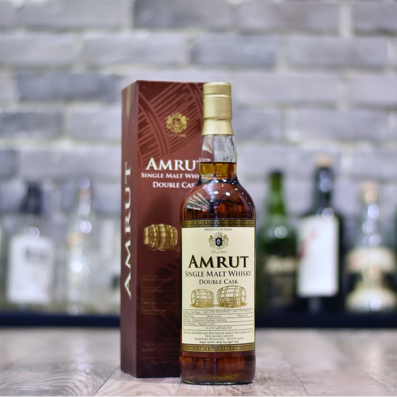 Amrut 7 Year Old Double Cask Cask 3451 & 3802