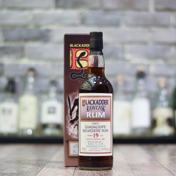 Blackadder - Belvedere 19 Year Old Guadeloupe Rum 1998 Cask 2017-057