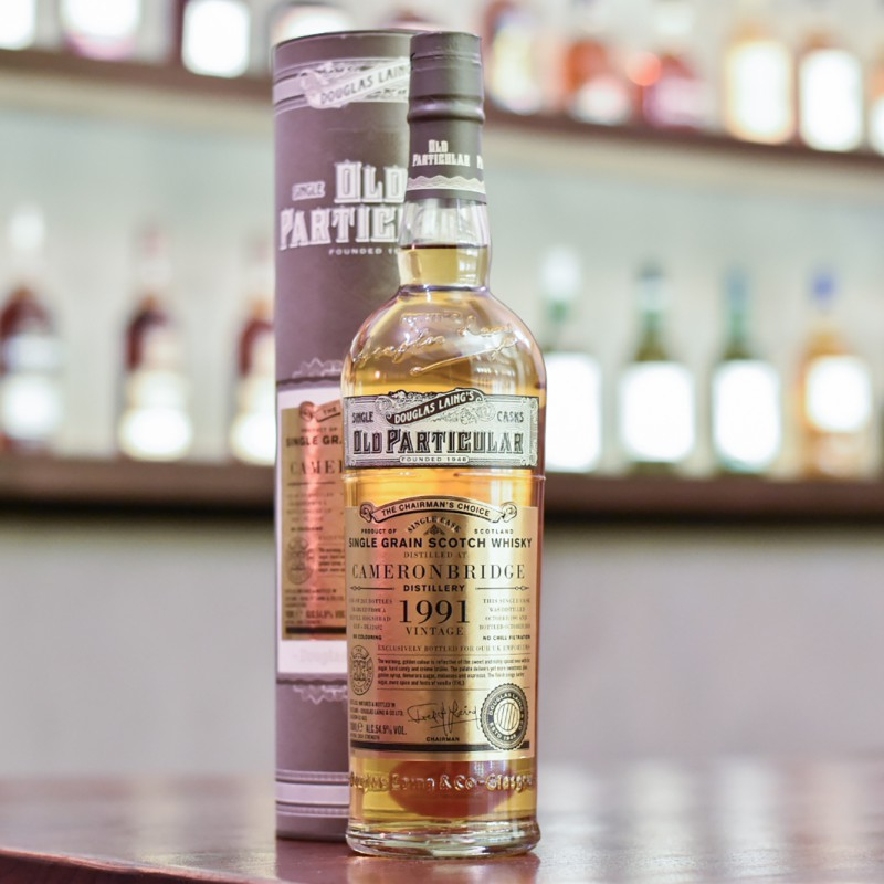 Old Particular - Cameronbridge 26 Year Old 1991 The Chairman's Choice Cask  DL12492