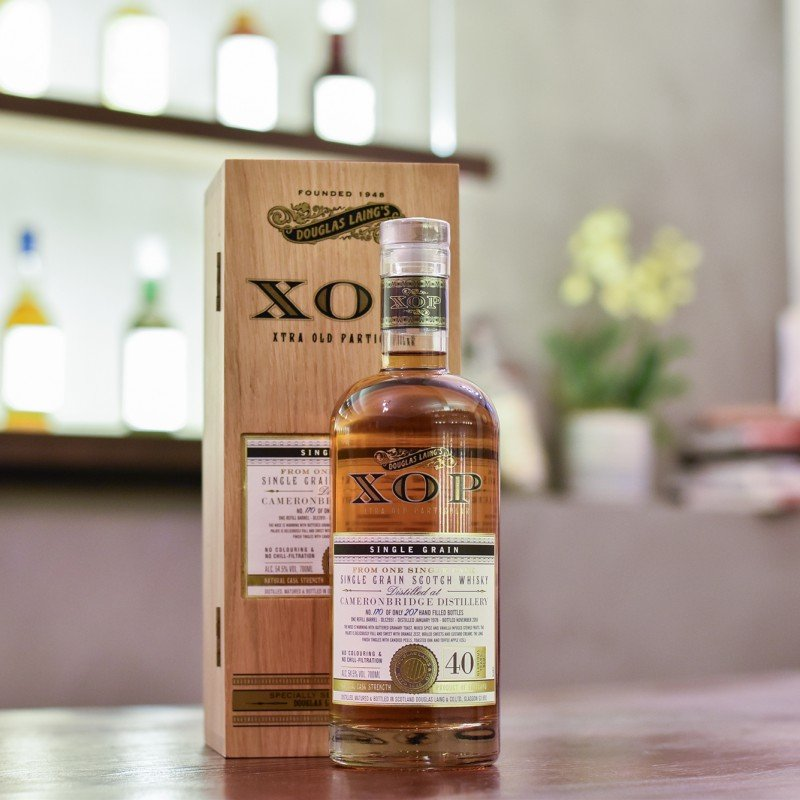 XOP - Cameronbridge 40 Year Old 1978 Cask DL 12951