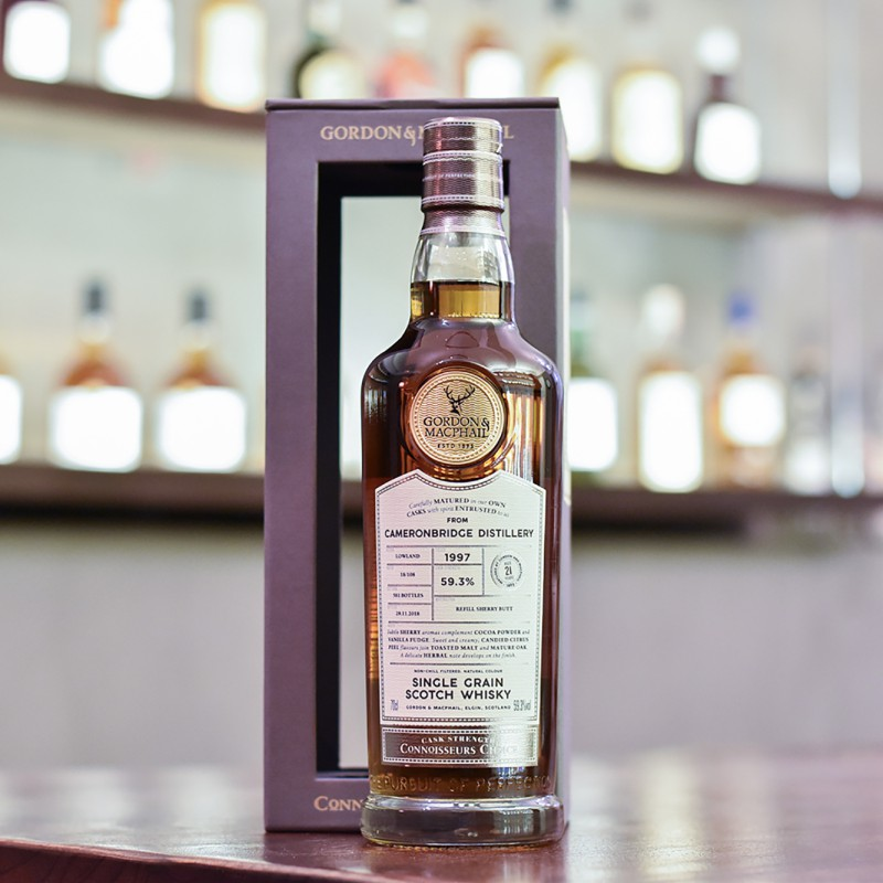 Gordon & MacPhail - Cameronbridge 21 Year Old 1997 Connoisseurs Choice Batch 18-108