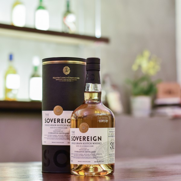 The Sovereign - Dumbarton 31 Year Old 1987 Cask 15558