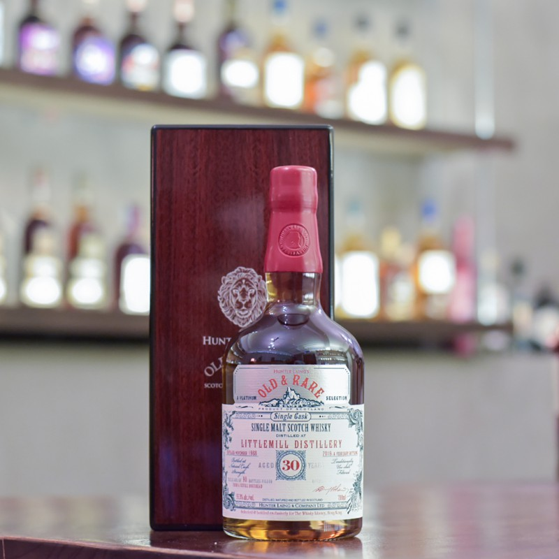 Old and Rare - Littlemill 30 Year Old 1988 Platinum Selection Hong Kong Exclusive