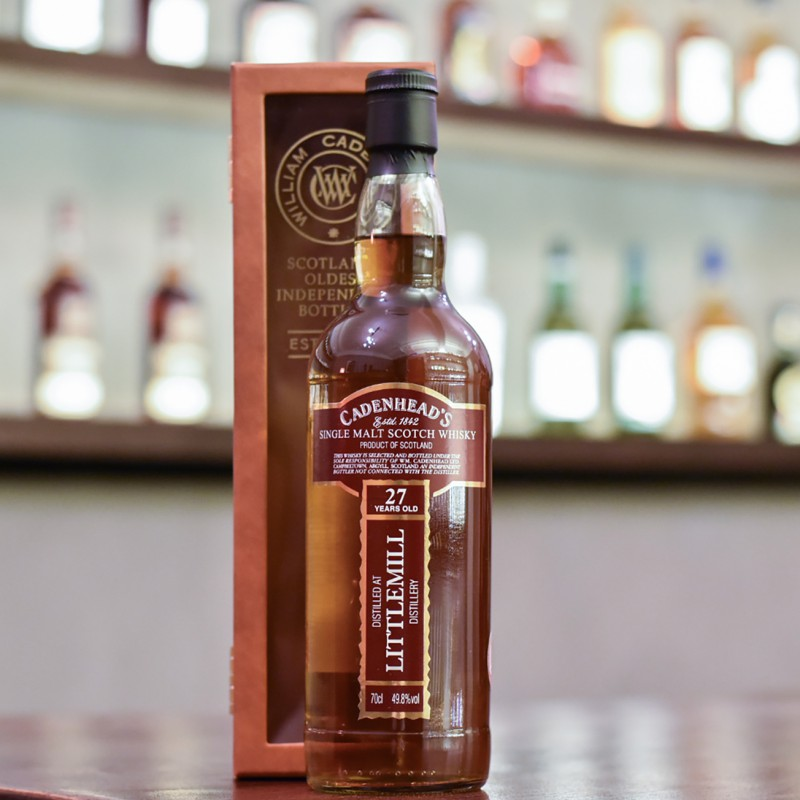 Cadenhead - Littlemill 27 Year Old 1992 Cask Strength