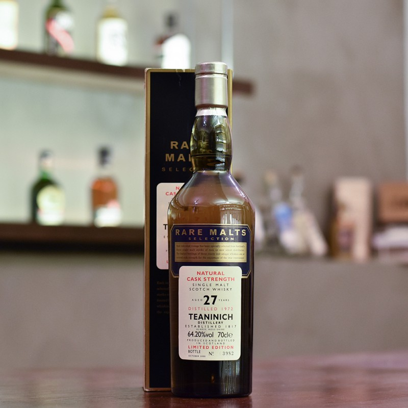 Teaninich 27 Year Old 1972 Rare Malts Selection
