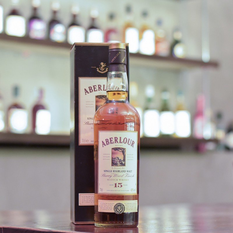 Aberlour 15 Year Old - Older Bottling