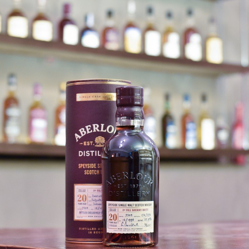 Aberlour 20 Year Old 1998 Taiwan Exclusive Cask 7503