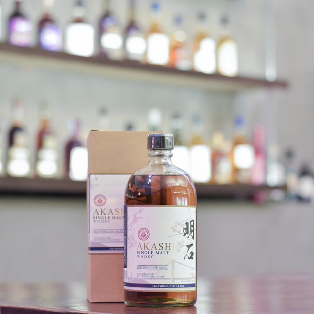 Akashi Red Wine Cask Finish Cask 61592