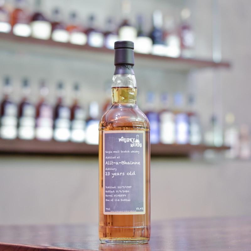 WhiskyNerds - Allt-A-Bhainne 23 Year Old 1997 Cask 102589