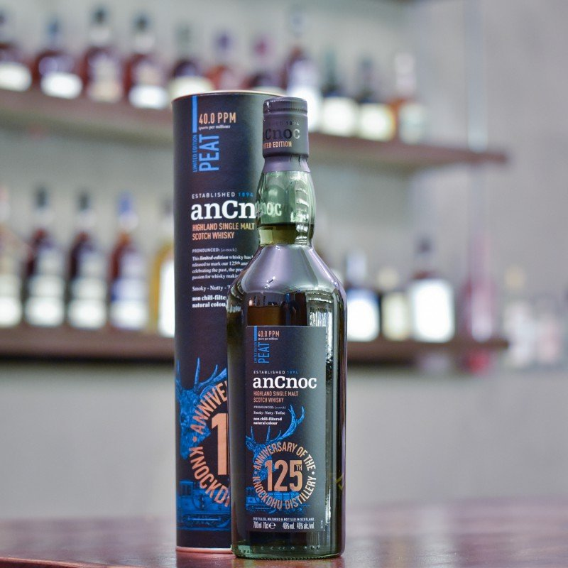 Ancnoc Peated 125th Anniversary