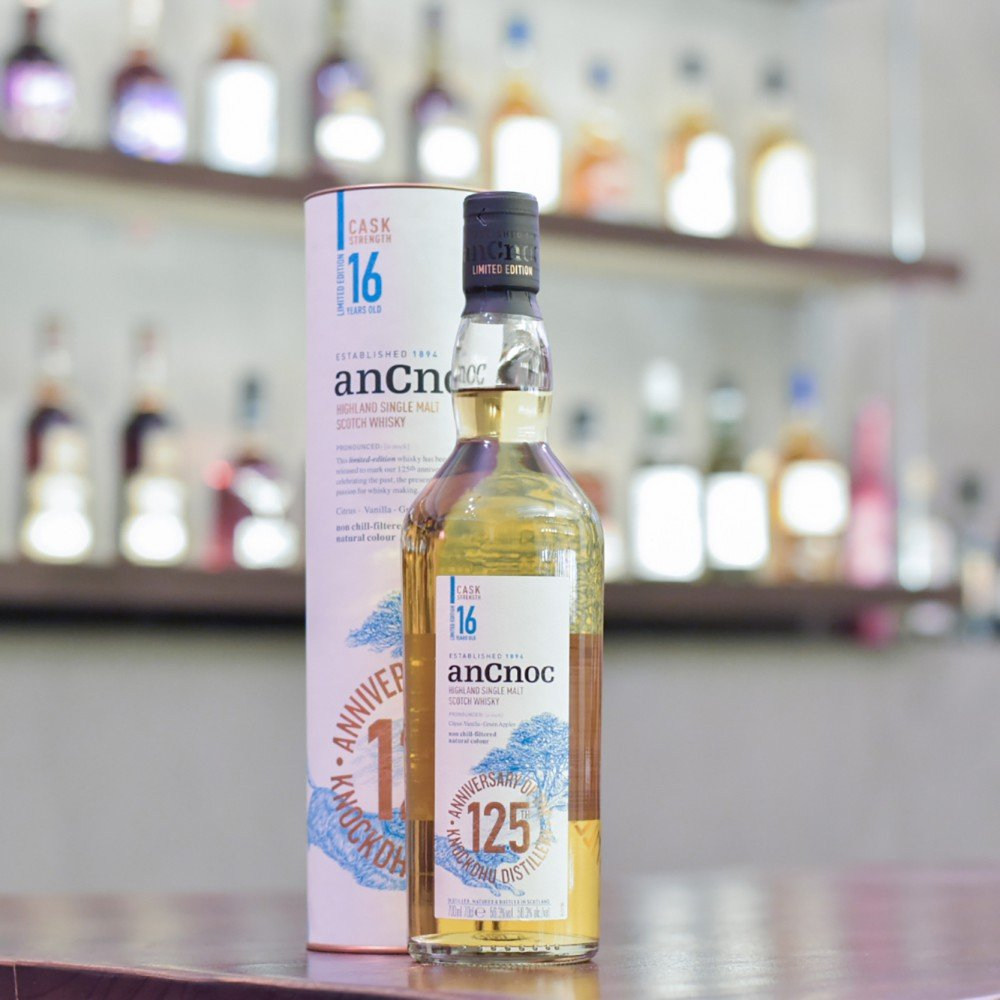 Ancnoc 16 Year Old Cask Strength 125th Anniversary