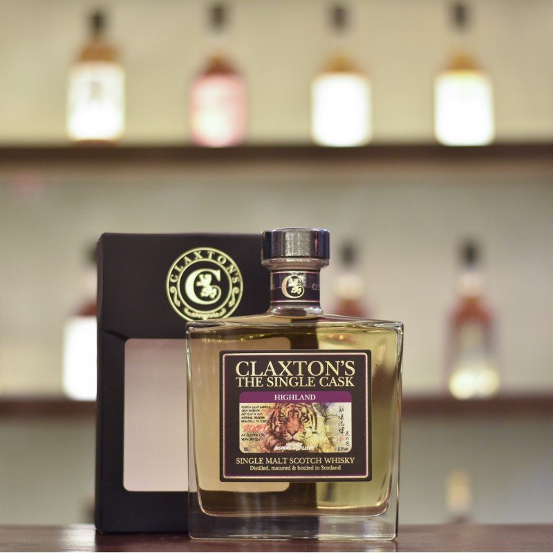 Claxton's - Ardmore 8 Year Old 2009 Tiger's Finest Selection Cask 1716CL-700463