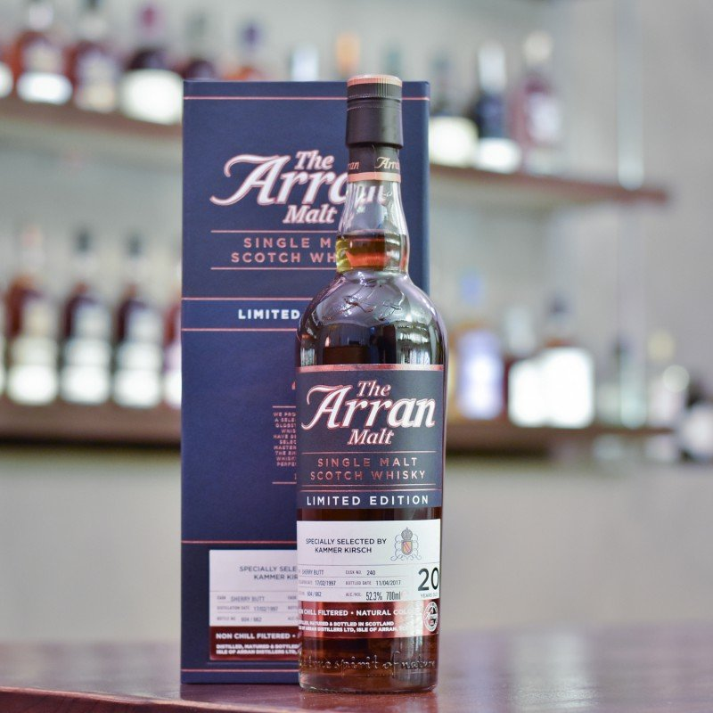 Arran 20 Year Old 1997 for Kammer Kirsch Cask 240