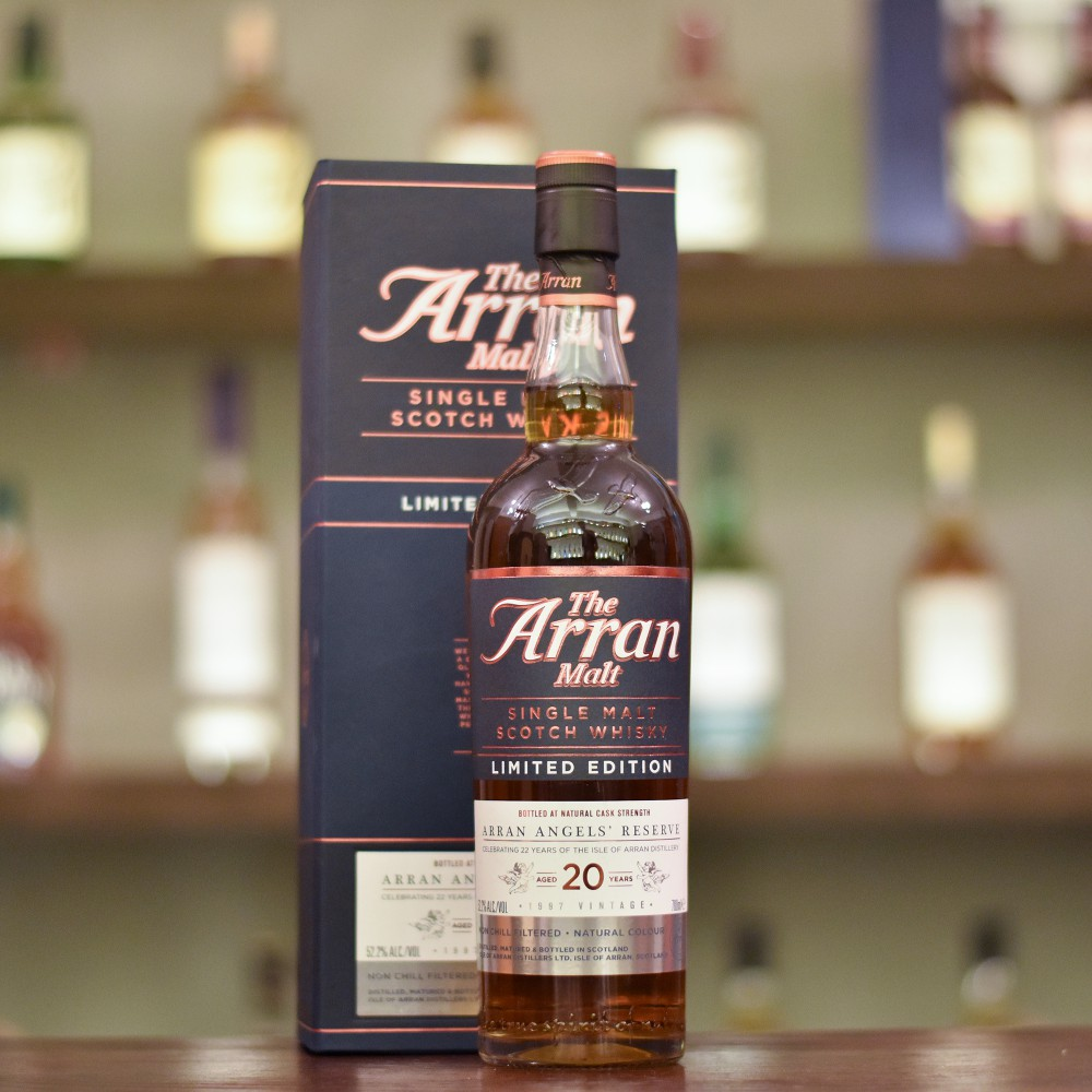 Arran 20 Year Old 1997 Angel's Reserve 22nd Anniversary Limited Edition