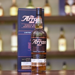 Arran 20 Year Old 1998 First Edition for Arran Japan 20th Anniversary Bottling Trilogy Cask 82