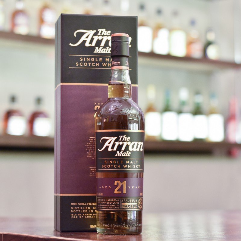 Arran 21 Year Old - First Edition