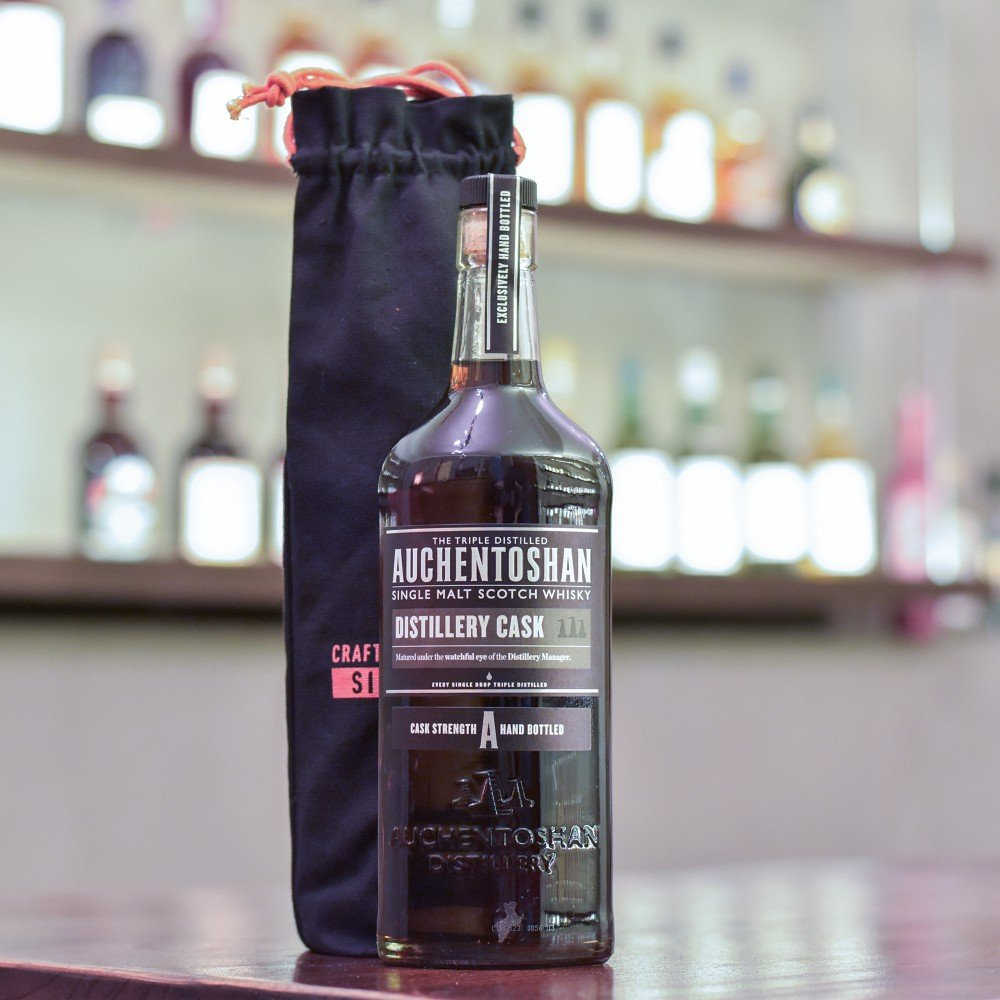 Auchentoshan 9 Year Old 2009 Hand-filled Oloroso Sherry Cask 4380