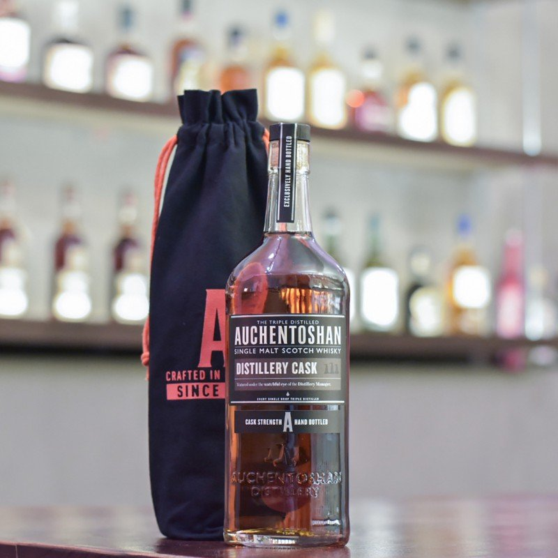 Auchentoshan 9 Year Old 2009 Hand-filled Oloroso Sherry Cask 4389