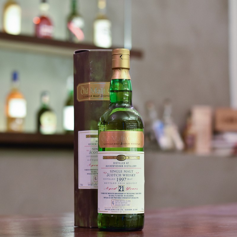 The Old Malt Cask - Auchentoshan 21 Year Old 1997 20th Anniversary Cask HL 17076