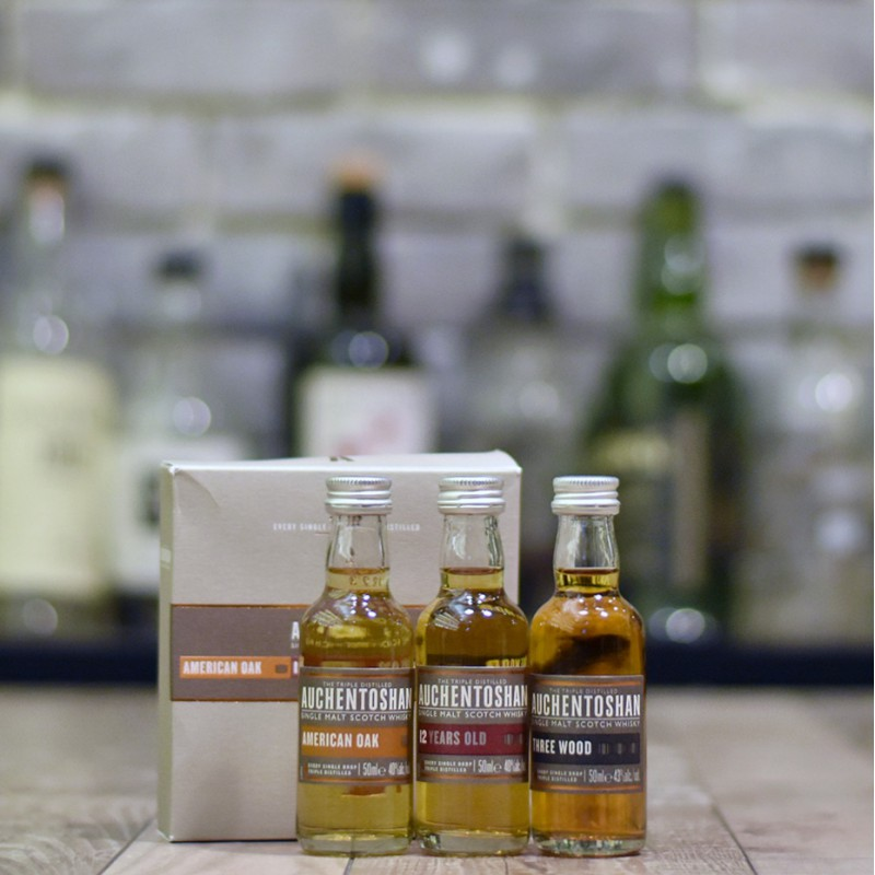 Auchentoshan Miniature Set