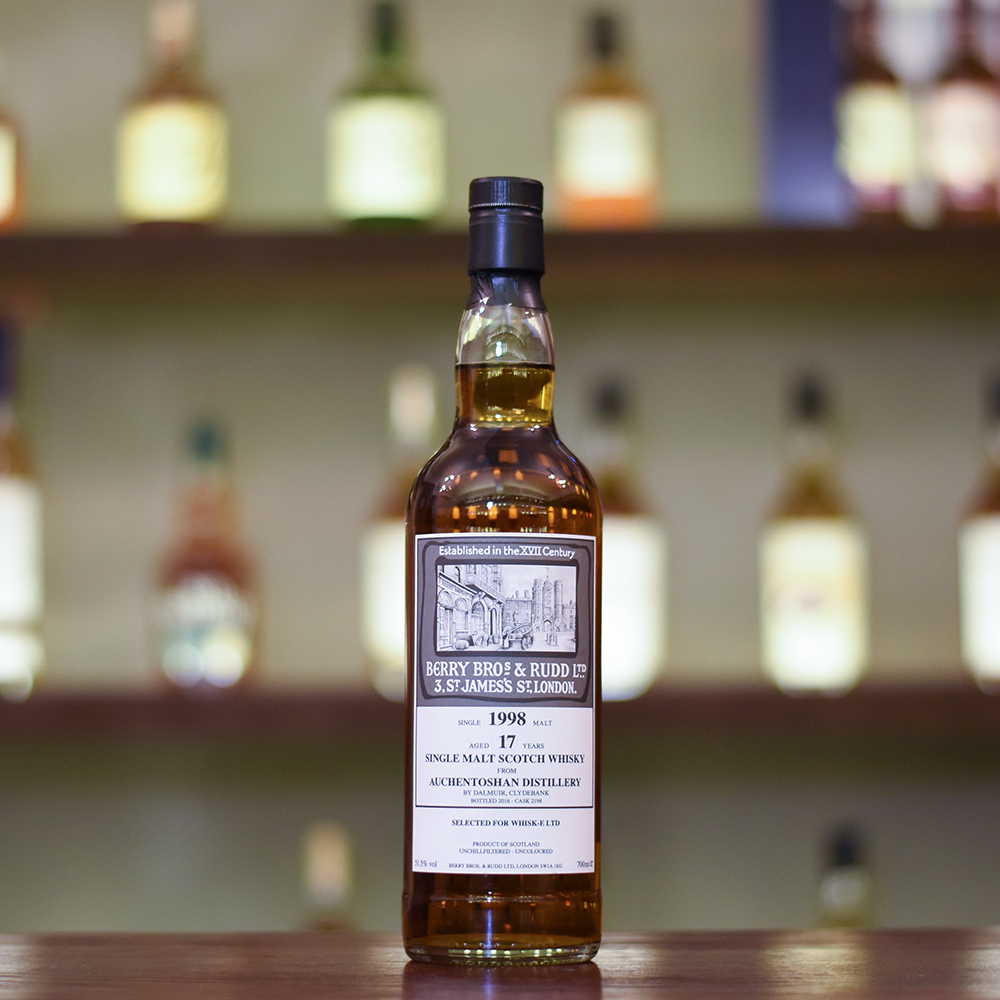 Berry Bros. & Rudd - Auchentoshan17 Year Old 1998 for Whisky-E Ltd Cask 2198