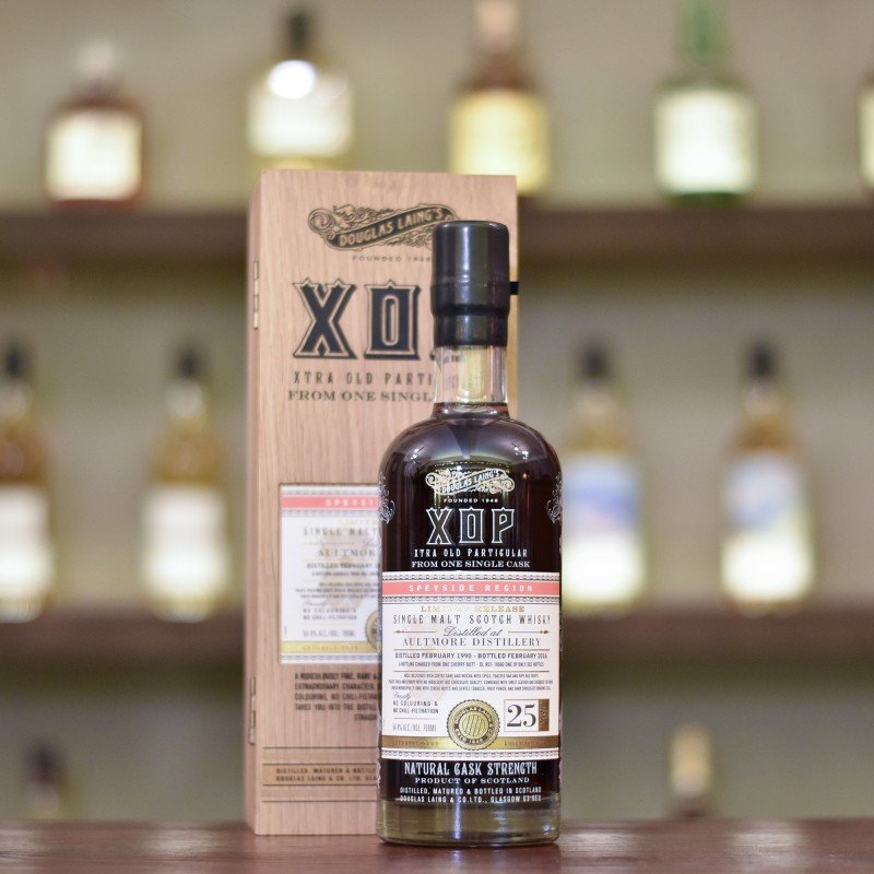 XOP - Aultmore 25 Year Old 1990 Sherry Butt Cask DL 11066