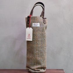 The Rare Malt - Harris Tweed & Leather Whisky Luggage (Single)