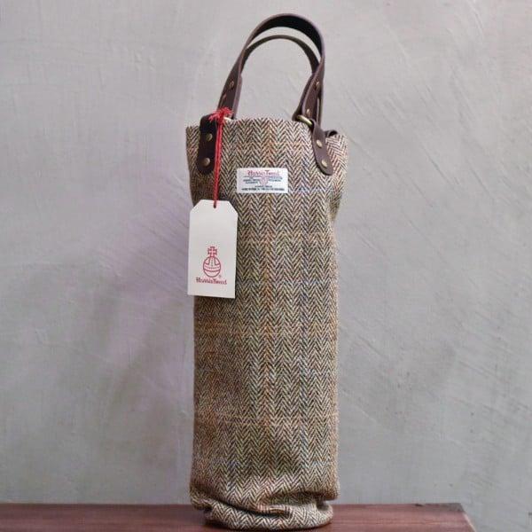 The Rare Malt - Harris Tweed & Leather Whisky Luggage (Single)