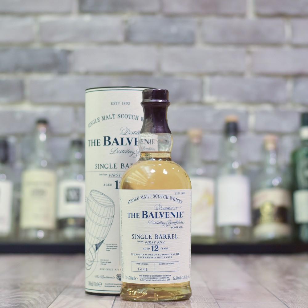 Balvenie 12 Year Old First-fill Ex-Bourbon Cask 1448