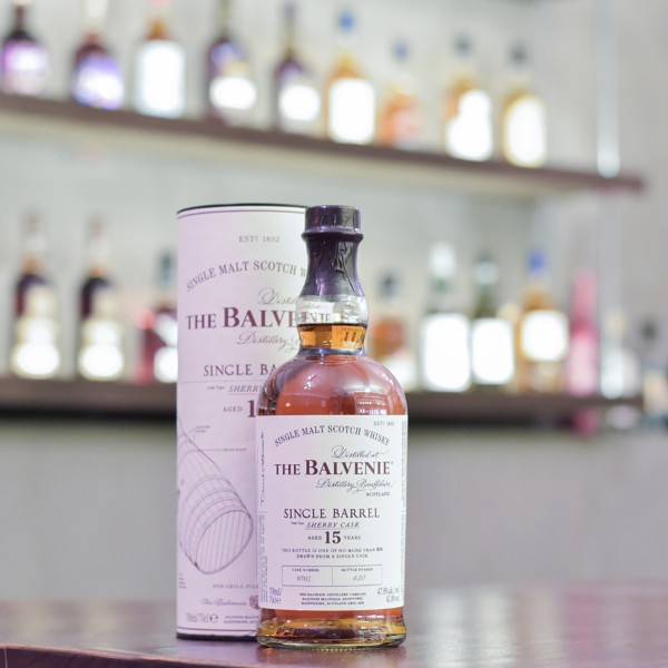 Balvenie 15 Year Old Single Sherry Cask 9702
