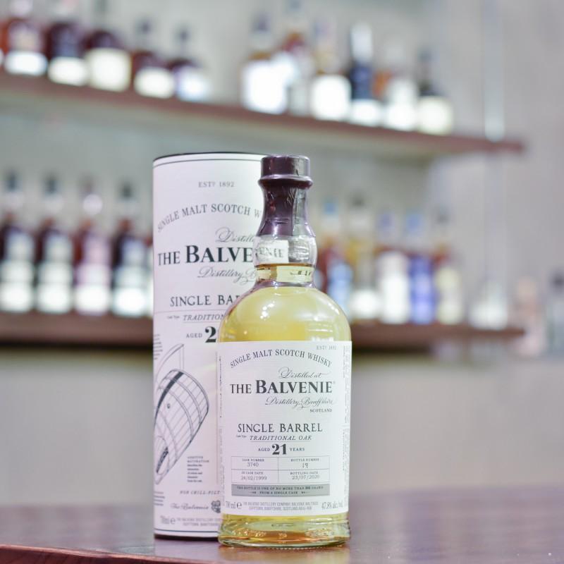 Balvenie 21 Year Old 1999 Single Barrel Cask 3740