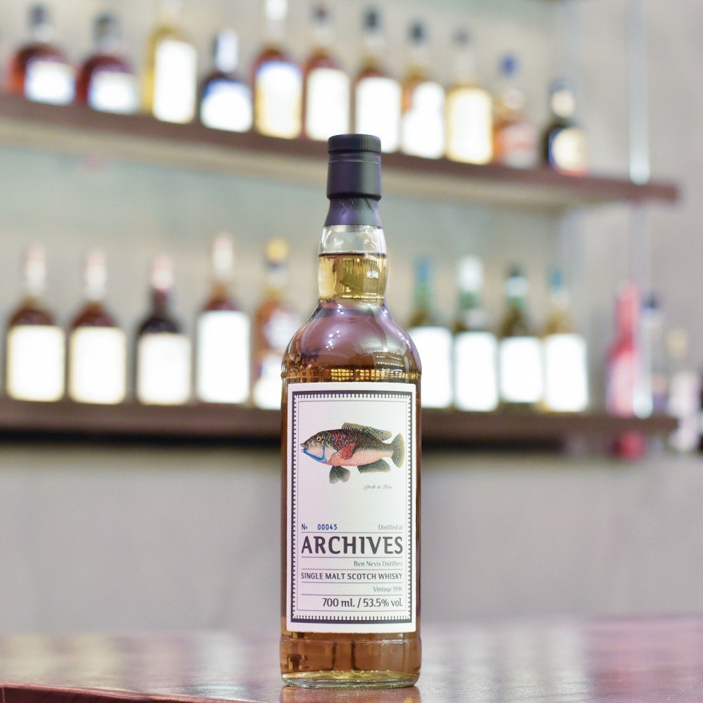 Archives - Ben Nevis 22 Year Old 1996 Cask 1862
