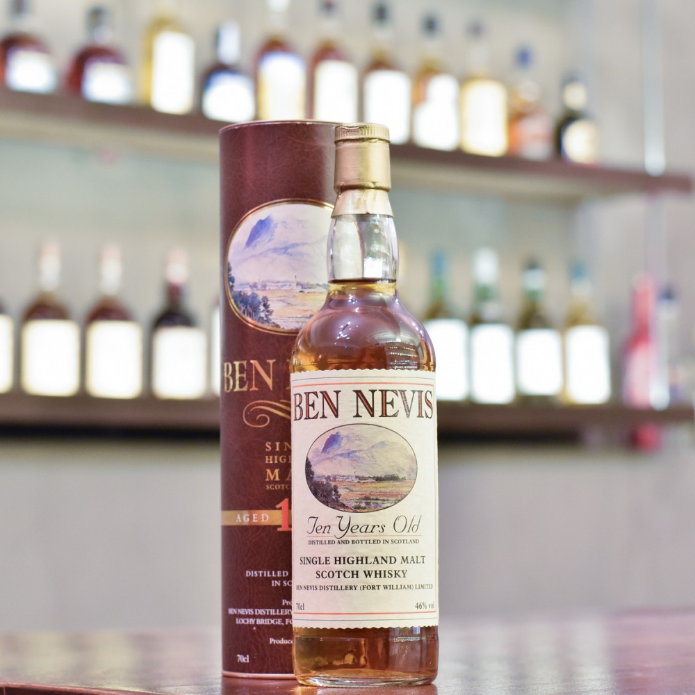 Ben Nevis 10 Year Old - 1990s Bottling