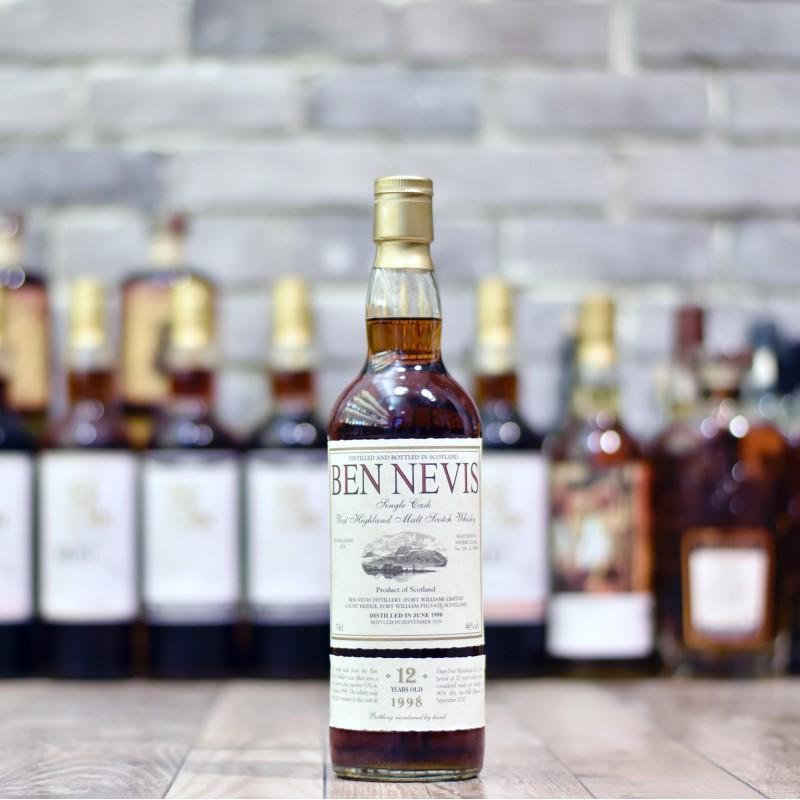 Ben Nevis 12 Year Old 1998 Cask 576